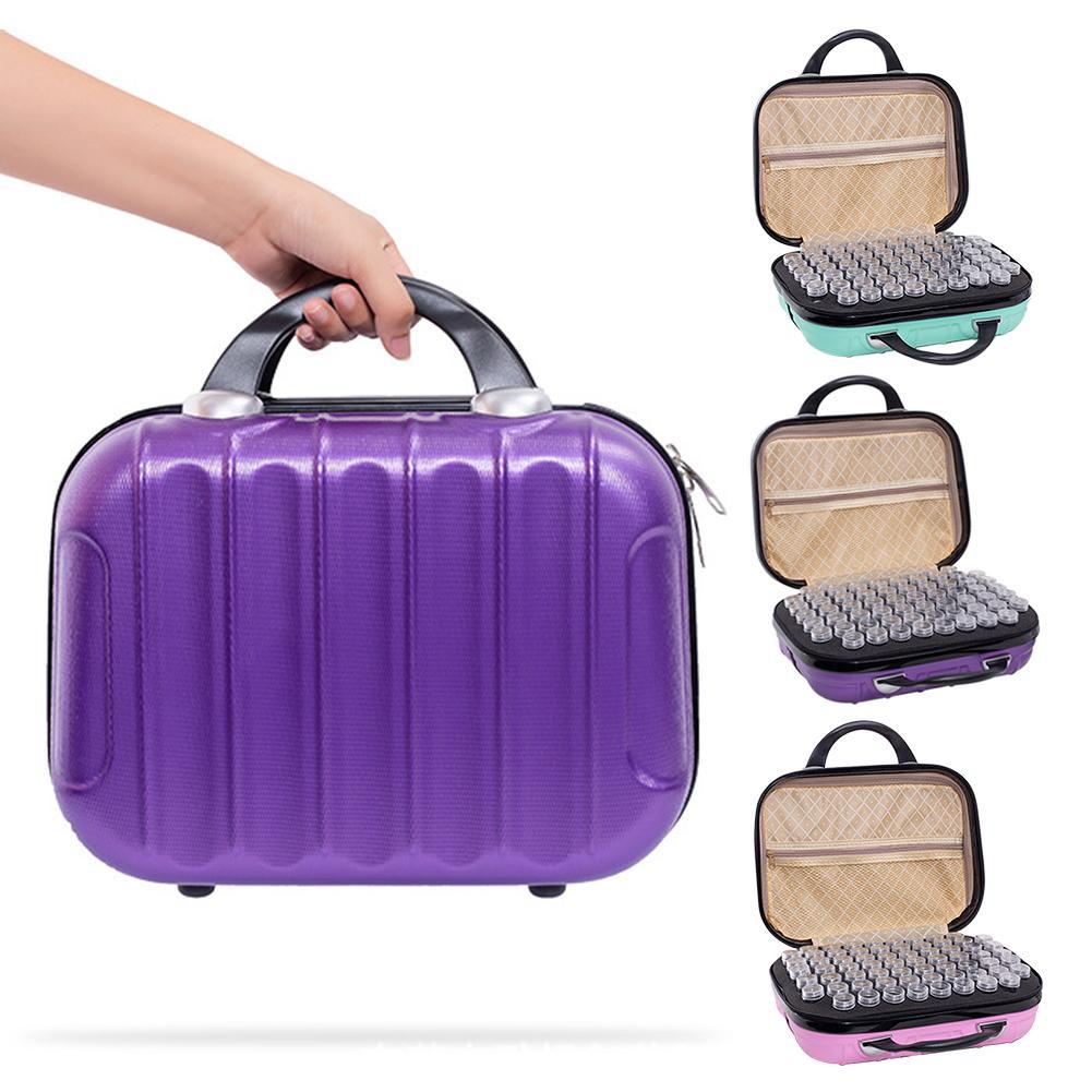 132-grille huile essentielle étui de transport huile de parfum vernis à ongles maquillage organisateur sac de rangement Portable voyage boîte de rangement