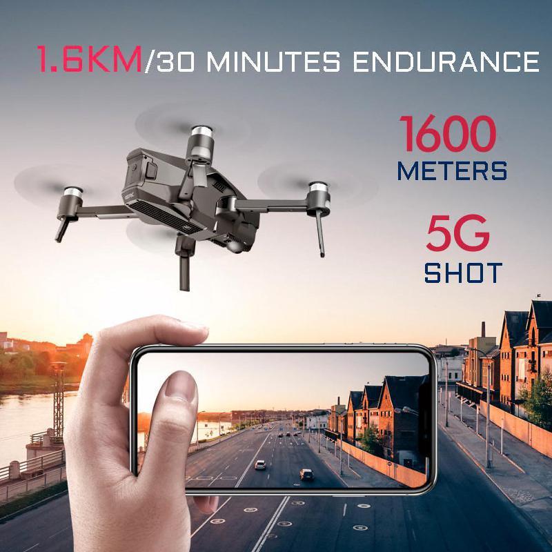 2km distancia sem escova zangao 30 minutos de tempo voo rc quadcopter 04