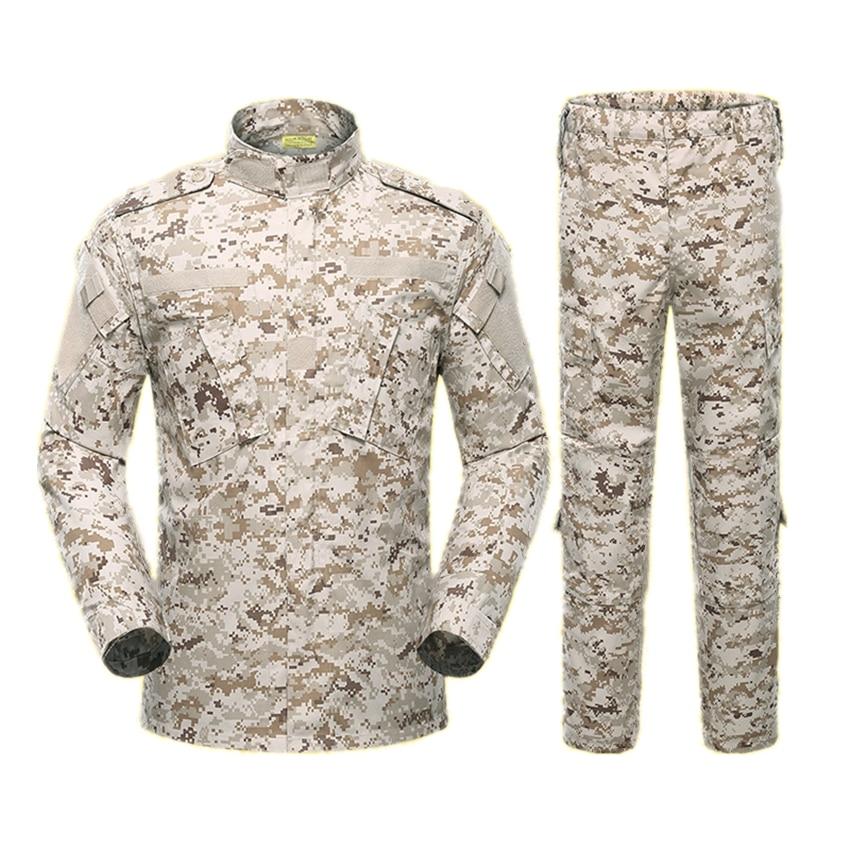 5 colores, uniforme Militar del ejército para hombres, traje táctico ACU fuerzas especiales, camisa de combate, abrigo, pantalón, conjunto de camuflaje, ropa para soldado Militar
