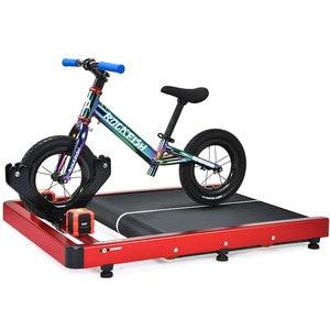 Image 4 - Eğitim sürme bisiklet ekipmanları denge bisikleti eğitmen platformu çocuklar 12/14 inç Scooter tren bisikleti uygulama öğrenmek platformu