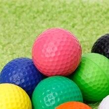 1 шт. Профессиональная тренировка гольф мячи поле игра игрушка в помещении на улице тренировка мячи