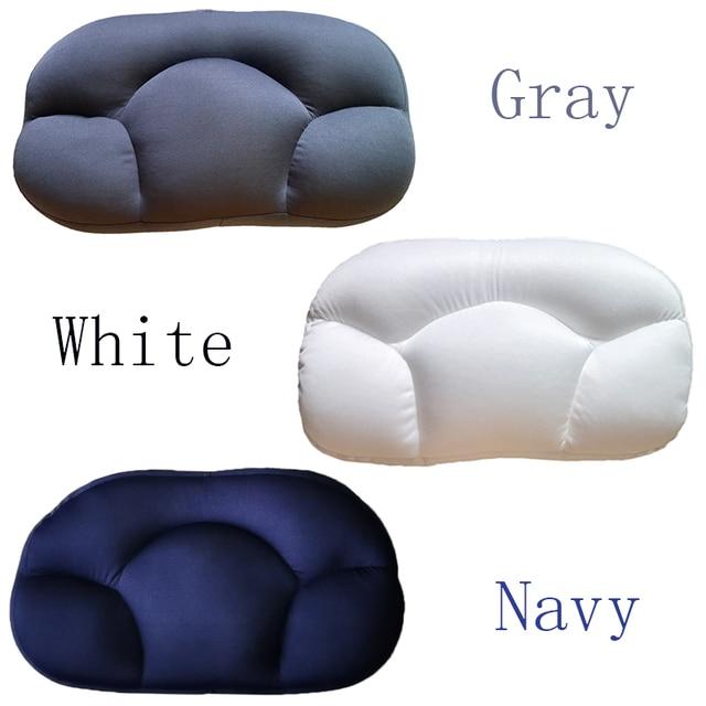 Foam Egg Pillow Butterfly Shape Baby Nursing Cushion micro-spheres Orthopedic Sleeping Neck Support Pillows Super Soft 4