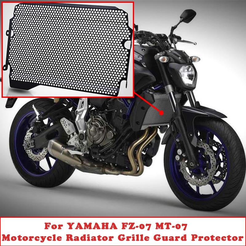 MT07 2018 2019 Rejilla Radiador Protection para Yamaha MT-07 MT 07