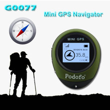 MINI GPS Personal Tracker G0077 Portable GPS Locator Real-time longitude and latitude coordinates Travel distance/Satellite time