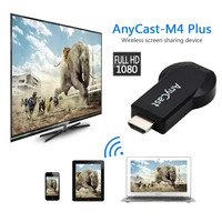 Ricevitore Display Dongle WiFi Wireless AnyCast M4 Plus 1080P compatibile HDMI Streamer multimediale TV Stick DLNA Airplay senza Switch