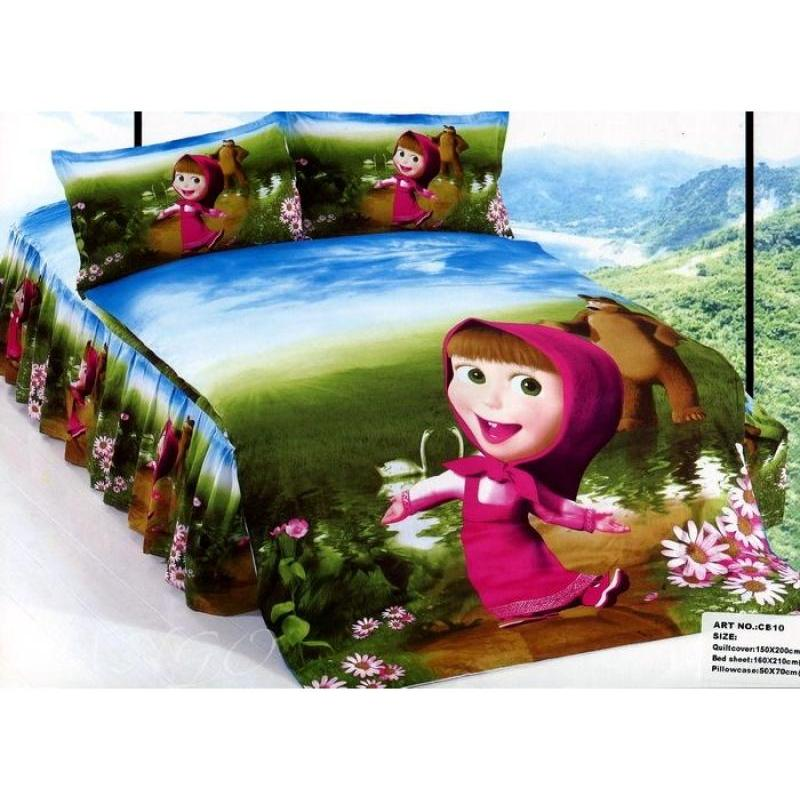 Bedding Set Children's Camomilla, Masha And Bear