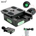 BEXIN QR50 stativ ball kopf mount adapter pu50 RRS schnell schuss quick release clip platte clamp für Arca swiss dslr kamera kugelkopf-in Stativ Einbeinstative aus Verbraucherelektronik bei