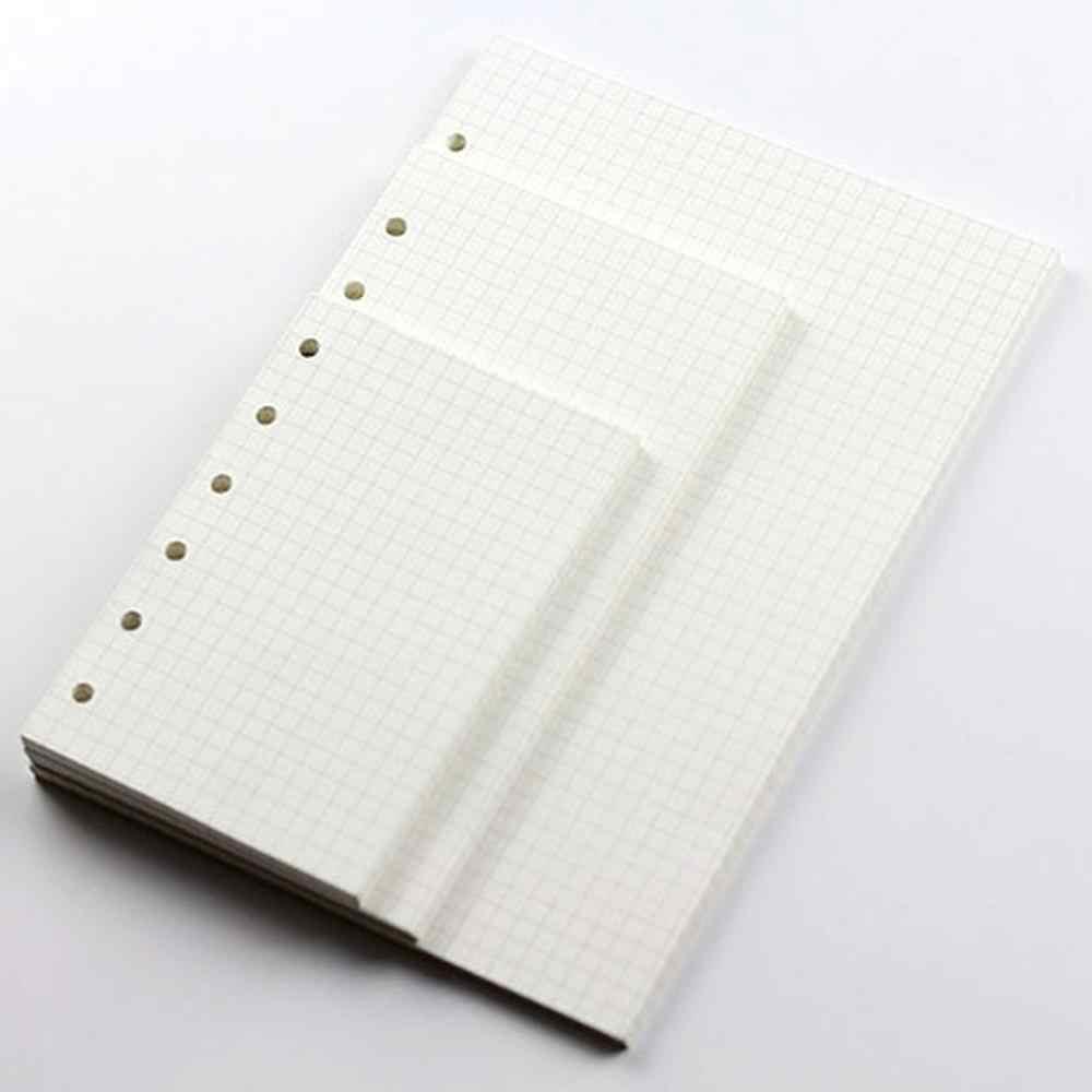6 חור מילוי פיסת נייר מחברת מילוי בתוך פנקס מחברת Core A5/ a6/A7
