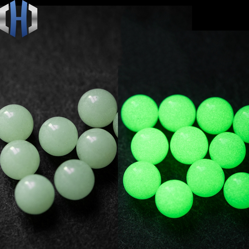 Fingertip Gyro DIY Beads Accessories Luminous Beads 6mm Glowing Balls 8mm Non-porous High Carbon Silicon EDC Ceramic Beads