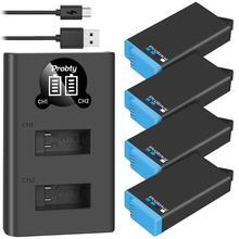 Probty batería recargable de litio Original para gopro max 360, accesorios de baterías de la Cámara go pro