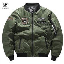 Inverno 2020 nova jaqueta masculina piloto jaqueta de lazer dos homens esportes casaco militar tático blusão de algodão quente masculino topo