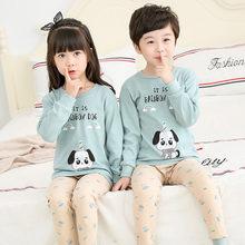 Детская одежда для маленьких мальчиков сна девочек весенние