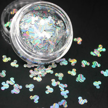 Twinkle Irregular Shell Paper Sequin DIY Nail Flakies Colorful Paillette Glitter Nail Art Sequins for 3D Nail Art Decoration
