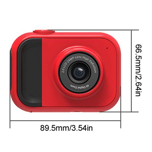 Nueva tienda de 2020. Caricatura portátil niños Mini cámara Digital 2 pulgadas pantalla de alta definición niño juguete
