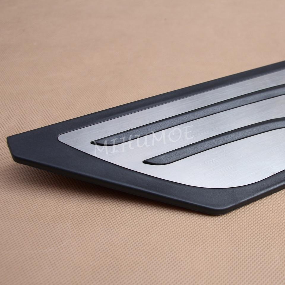 In Acciaio Inox Pedali Pedale obblighi fusstütze at BMW 2er f45 f46 x1 f48 x2 Automatik