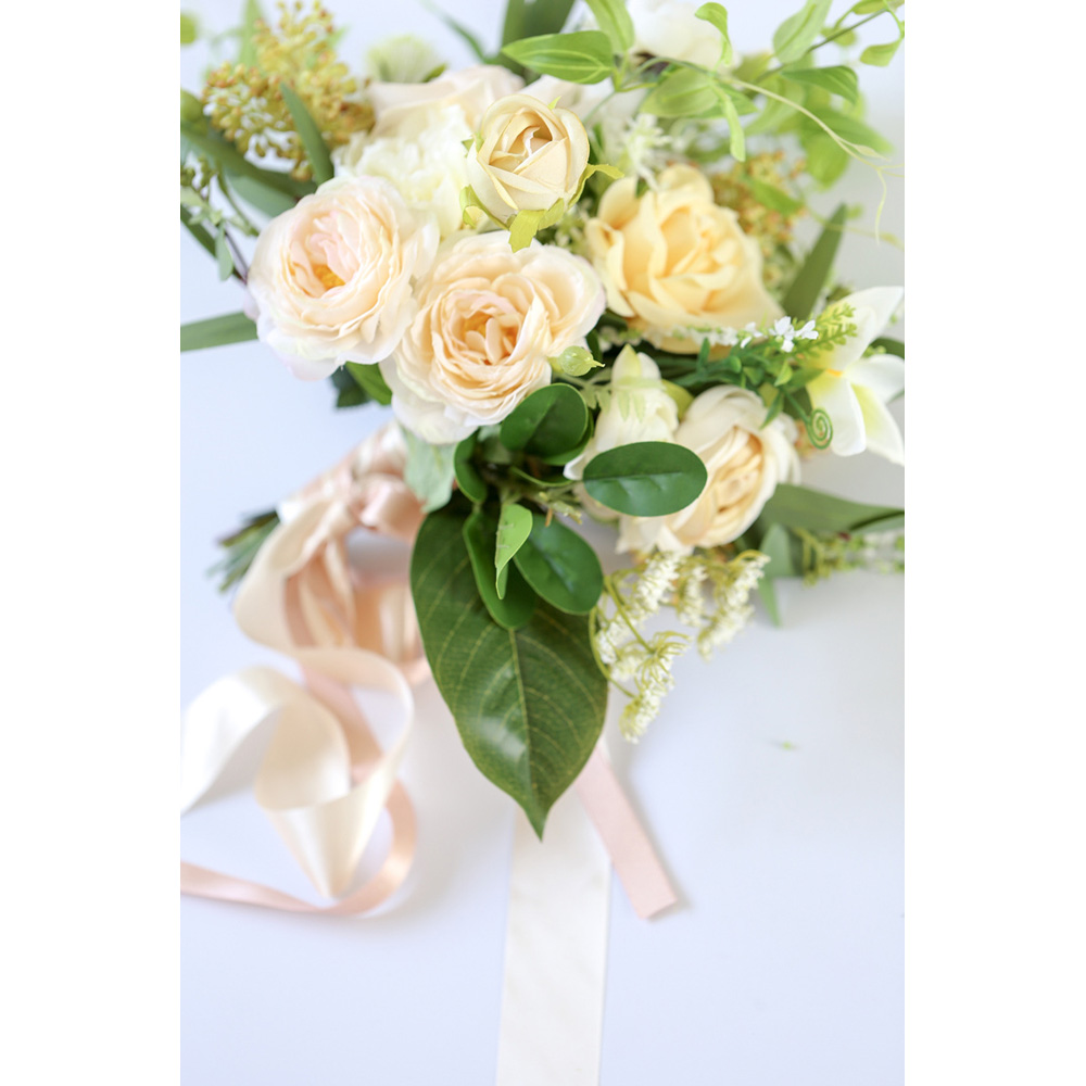 2020 European Style Wedding Bouquets High Quality Free Shipping Bridal Bouquets 35*55cm Wedding Accessories