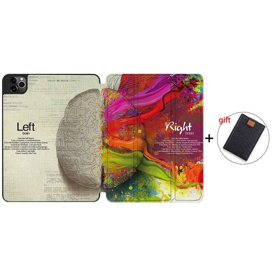 IPTPU01 Red MTT Case For iPad 4th Gen Pro 12 9 2020 Release A2229 A2233 Soft TPU Back