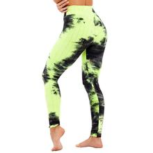 Sexy Yoga Pants Push Up Women fashion High Waist Tie dye printed yoga pants Gym Sports Running Fitness Leggings Skinny Pilates