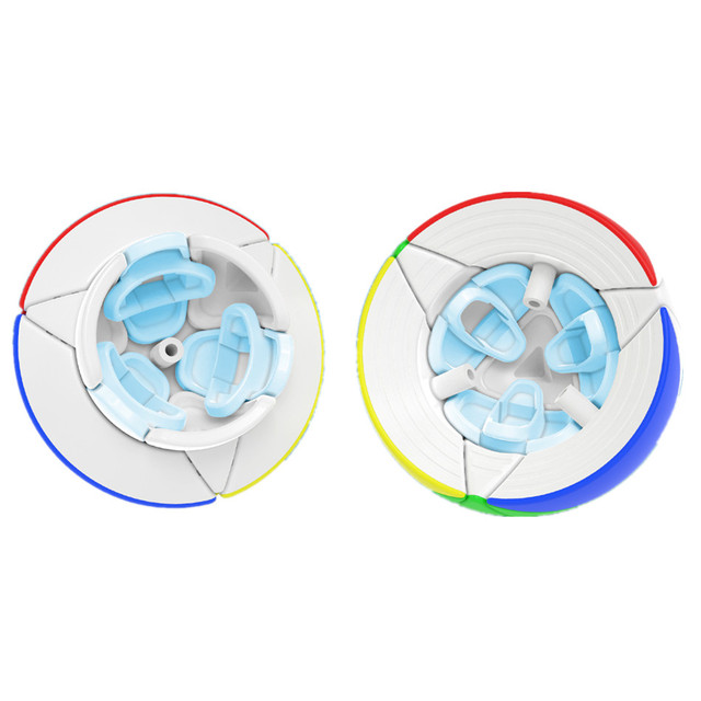 YJ Yeet Ball Cube 3D Magic Cube Speed Learning Educational Toy for Children Anti Stress Round  shape Neo cubo magico 4