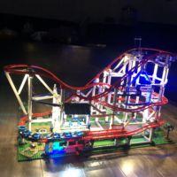 Roller Coaster 15039 Creator Expert lepinbricks Compatible with legoset 10261 Building Blocks bricks Toys lepinblocks Gifts