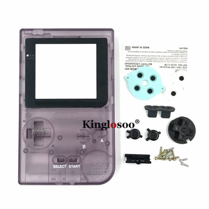 Image 4 - Luminous Full set housing shell cover case w/ rubber pad for gameboy pocket GBP shell buttons