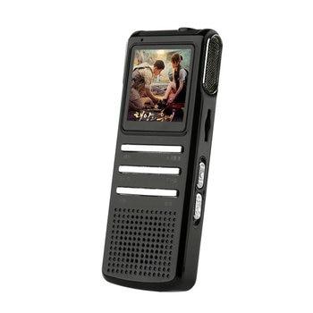 Ekran LCD Mini kamera nagrywanie dźwięku kamera wideo obsługa karty TF 32GB cyfrowe odtwarzanie wideo A-B powtarzanie dyktafonów