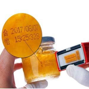 Image 3 - Expiration number printer production date code coding tools manual lot mark printing machine printer metal wood bottle