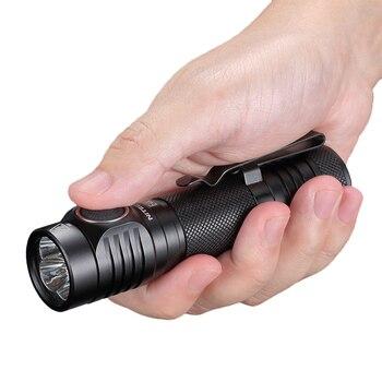 NITECORE E4K LED Flashlight CREE XP-L2 V6 4400 LM High Power Survival Flashlight with 21700 5000mah Battery for Outdoor Camping 2