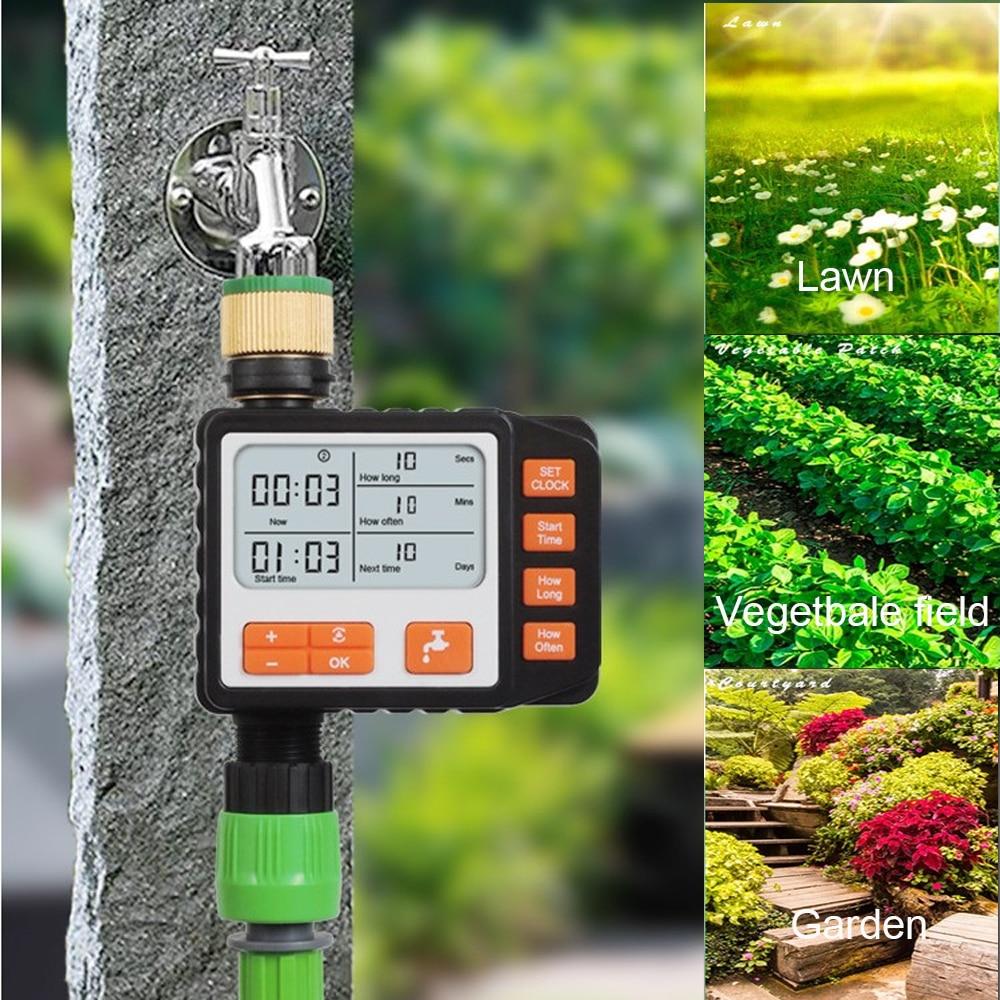 50 м 4% 2F7 Micro Drip Орошение Наборы Автоматический Полив Система с ЖК-экраном Таймер% 2CСадоводство Зеленый Инструменты Для Посадки Цветы