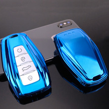 TPU key case for car For Geely Atlas Boyue NL3 Emgrand X7 EmgrarandX7 EX7 SUV GT GC9 borui auto accessories keychain keyring