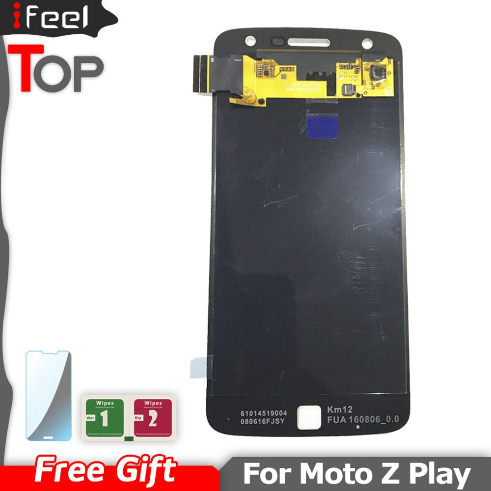 New 100% Test Working <font><b>LCD</b></font> For Motorola Moto Z Play <font><b>XT1635</b></font> <font><b>LCD</b></font> Display Touch Screen With Digitizer Assembly image