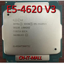 は E5 4620 V3 サーバー cpu 2.0 グラム 25 メートル 10 コア 20 糸 LGA2011 3 プロセッサ