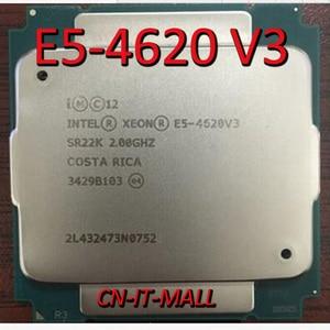 Image 1 - Pulled E5 4620 V3 Server cpu 2.0G 25M 10Core 20 thread LGA2011 3 Processor