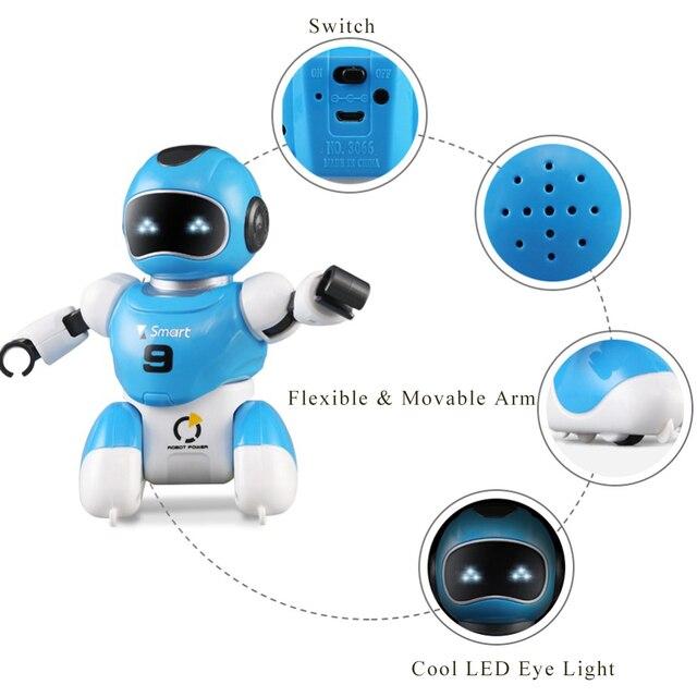 روبوت لعبة كرة القدم ، برمجة ذكية ، محاكاة رياضية مع موسيقى ، روبوت ai ، لغز ، تعليم مبكر ، روبوت rc 4