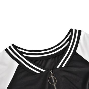 5XL Plus Size Bodycon Dress Sexy Deep V Zipper Dress Women Stripe Long Sleeve Mini Dress Elegant Slim Fit Club Dress vestido D30 6