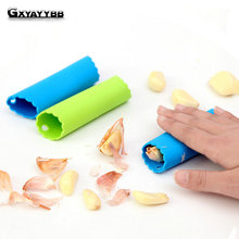 GXYAYYBB 1Pcs Silicone Garlic Peeler Grater Creative Peel Stripper Tube Kitchen Accessories 2019 Hot Sales