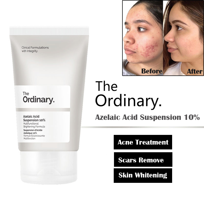 The Ordinary Azelaic Acid Suspension 10% Multi Functional Brightening Formula Acne Treatment Daily Face Cream