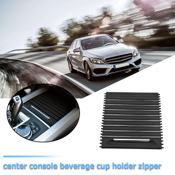 Roller Blind Center Console Cover Cup Holder Sufficient Enduring Ruggedness Sliding for BMW X5 F15 X6 F16 13-19