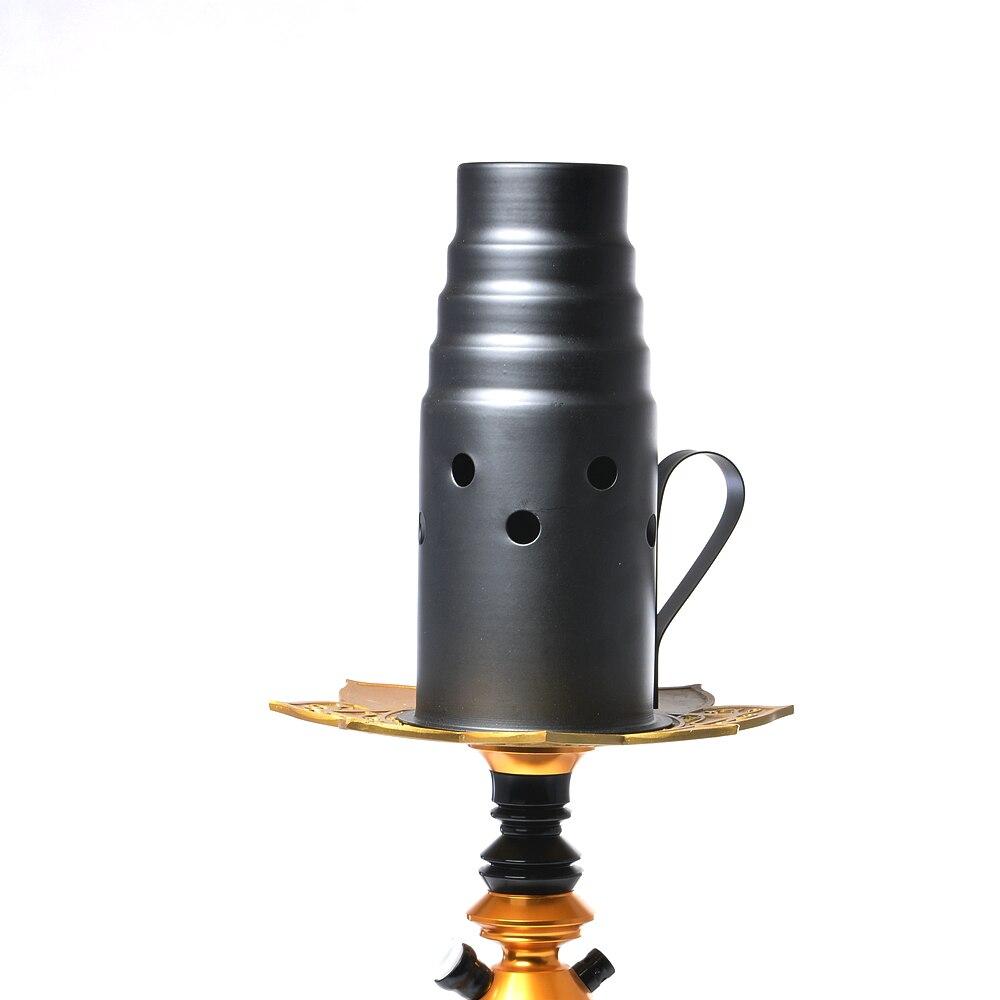 Negro Hookah del viento Cachimba pipa Shisa Waterpijp Nargile Sisha de Sheesha Chichas Narguile accesorios Gadget Shishas y accesorios    - AliExpress