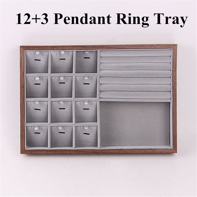 Wood Watch Display Box Jewelry Ring Earring Storage Organizer Wooden Case Watch Storage Packing Gift Boxes Jewelry Case | Watch Boxes
