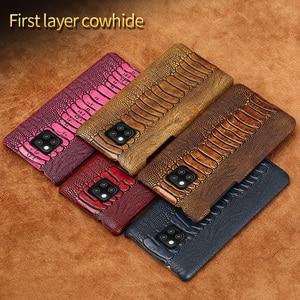 Image 5 - Funda de teléfono de lujo de cuero genuino para Huawei Mate 20 pro P40 Pro P30 Lite P20 Pro Y7 Y9 para Honor 20 Pro 10 Lite 8X 10i