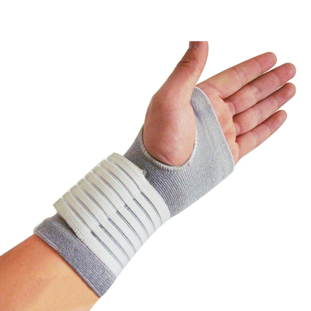Palm Elastic Sports Safety Carpal Tunnel Tennis Wrist Bandage Brace Support