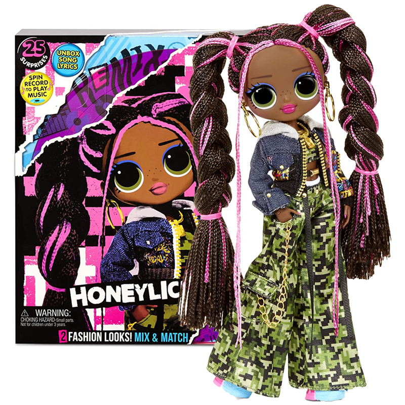 2020 Lol Surprise Dolls Omg Remix Honeylicious Fashion Suit Blind Box Diy Play House Blind Box Birthday Surprise Gift for Girls