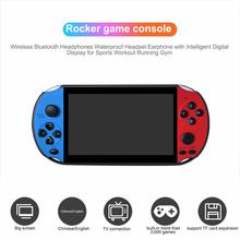 Double Rocker Handheld Game Console Machine 5.1 Inch Large Screen 128-bit 8G Memory With 3000 Games For X12pro