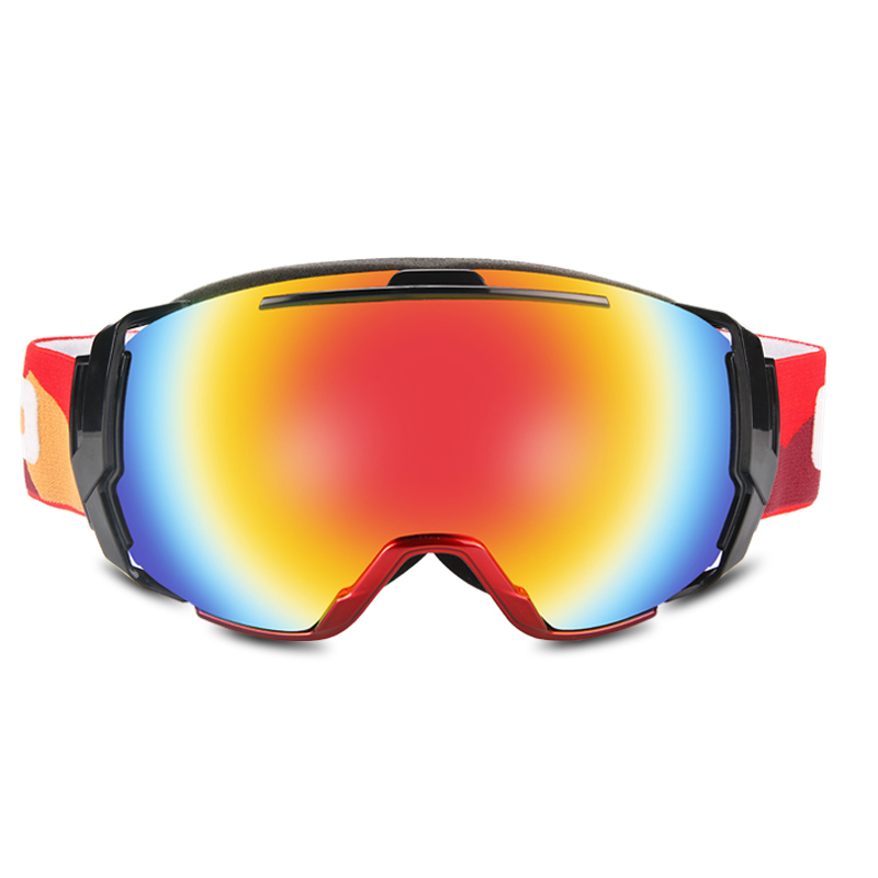 Skiing Eyewear Goggles Men Women Ski Snowboard Goggles UV 400 Anti-fog Over Glasses  Double Lens Winter Skating Snow Goggles