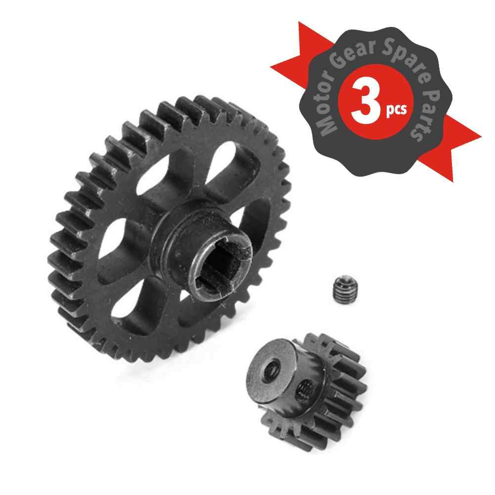 RC Car Motor Gear Metal Reduction Gear Upgraded Remote Control Vehicle Toy Accessories For WLtoy A949 A959 A969 A979 K929 RC Car