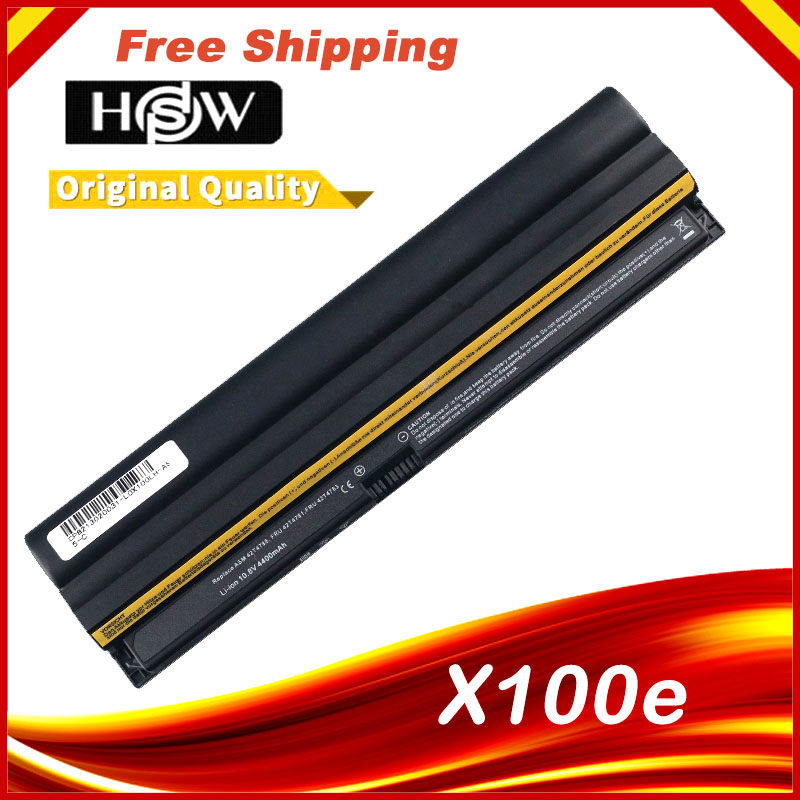 Laptop Battery For Lenovo ThinkPad X100e 100e X120e Edge 11