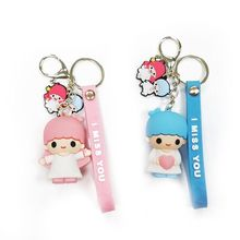 2020 Hot Women New Cute Doll Bag Pendant Keychains Charm Accessories Men Best Couple gift Jewelry Keyrings