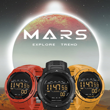 Мужские Цифровые часы NORTH EDGE, спортивные часы с двойным шагомером и будильником, водонепроницаемые цифровые часы 50 м, военные часы