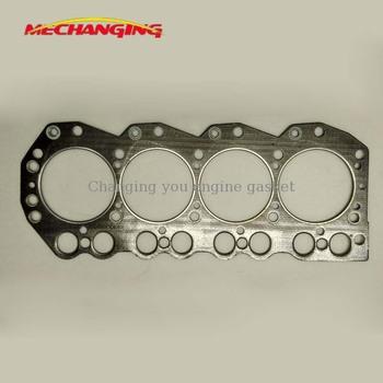 TD27 dla do ciężarówek NISSAN 2 7L D21 części silnika uszczelka głowicy cylindra uszczelka silnika 11044-43G00 11044-43G01 tanie i dobre opinie Mechanging CN (pochodzenie) Głowica cylindra 28cm 9 75cm 4 CYLINDRY 1989 49cm Graphite or Other 2663cc 0 4kg Seal Diesel engine
